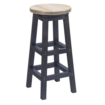 Recycled Plastic Outdoor Bar Stool Patio Furniture At