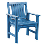 Recycled Plastic Outdoor Garden Chair