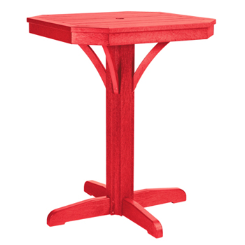 Recycled Plastic Counter Table Patio Furniture At Sun