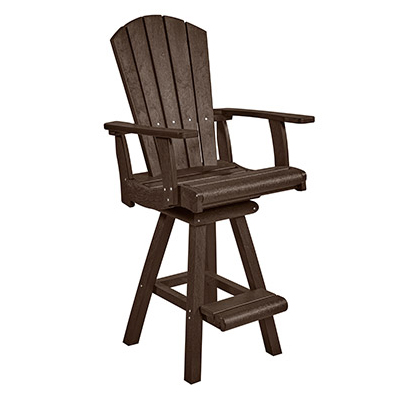 Addy Swivel Pub Chair Patio Furniture At Sun Country