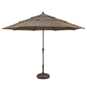 Patio Umbrella 11 ft. Auto Tilt Market
