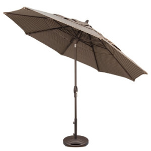 patio umbrella 11' octagonal tilted