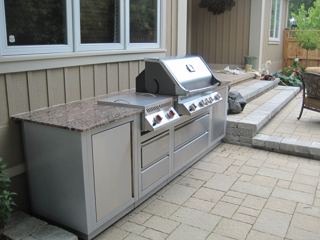 Napoleon oasis outdoor kitchen