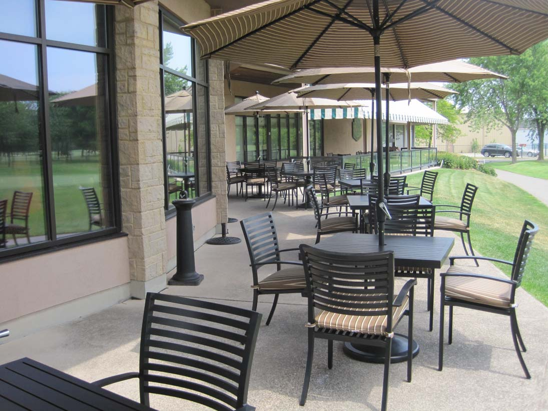 Modern Outdoor Aluminum Patio Dining Sets