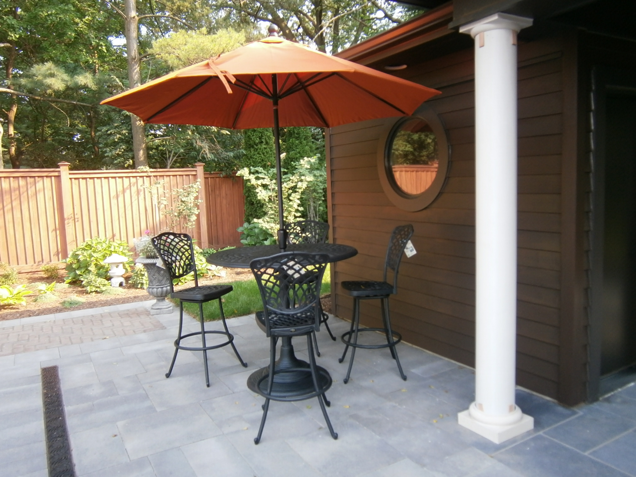 Aluminum Outdoor Bar Set