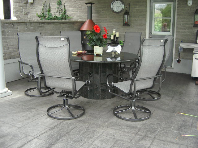 Aluminum Patio Furniture Dining Set