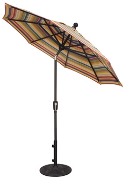 Patio Umbrella 7 5 Ft Standard Tilt Market Patio At Sun