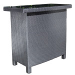 Outdoor Bar - Wicker Patio Furniture Bar by Cabana Coast