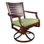 Patio Furniture Chair - Modern and Traditional - Mission Teak style collection