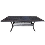 Cast Aluminum Patio Furniture by Cabana Coast in Toronto - Pure 102 dining table