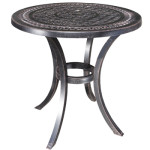 "Pure Cast Aluminum 30"" Round Dining Table"