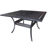 Counter Height Dining Table - Cast Aluminum Patio Furniture - Pure Collection