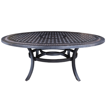 Pure Cast Aluminum Table Collection