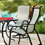 Aluminum Fabric Patio Furniture by Telescope Casual - Aruba