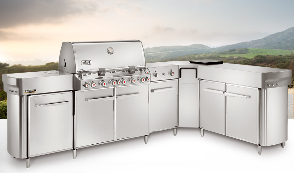 Outdoor Kitchen Barbecues Weber