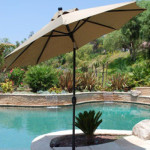 Patio Table Umbrella - Sunbrella Fabric