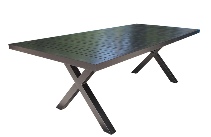 Milano Cast Aluminum Patio Furniture Dining Tables