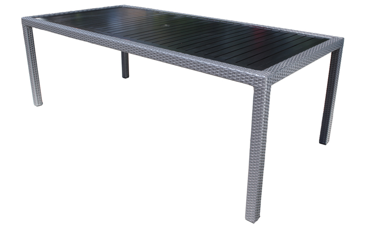 Piano Outdoor Wicker Dining Table Collection - Toronto