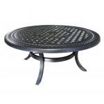 Cast Aluminum Round Large Coffee Table - Patio Furniture from Cabana Coast