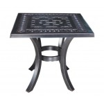 Pure Aluminum Square End Table