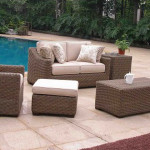 Outdoor Wicker Patio Set - Riviera Modern Deep Seating