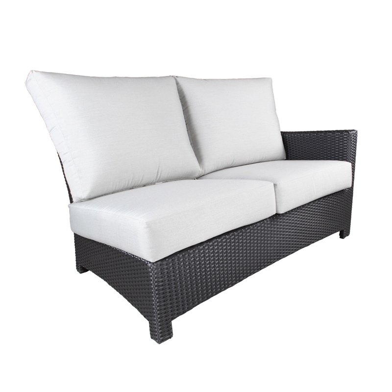 Flight Wicker Sectional Right Module Patio Furniture At