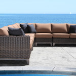 Columbia Outdoor Wicker Sectional