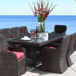 Dune Outdoor Wicker Dining Collection