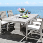 Venice Cast Aluminum Dining Collection - Patio Furniture