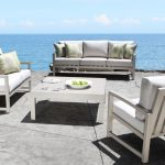 Venice Cast Aluminum Deep Seating Collection - Outdoor Furniture