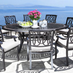 Cast Aluminum Dining Patio Furniture