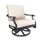 Bloom Cast Aluminum Deep Seating Swivel Rocker
