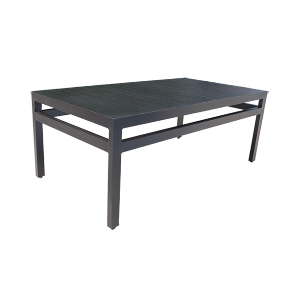 Monaco Cast Aluminum Coffee Table
