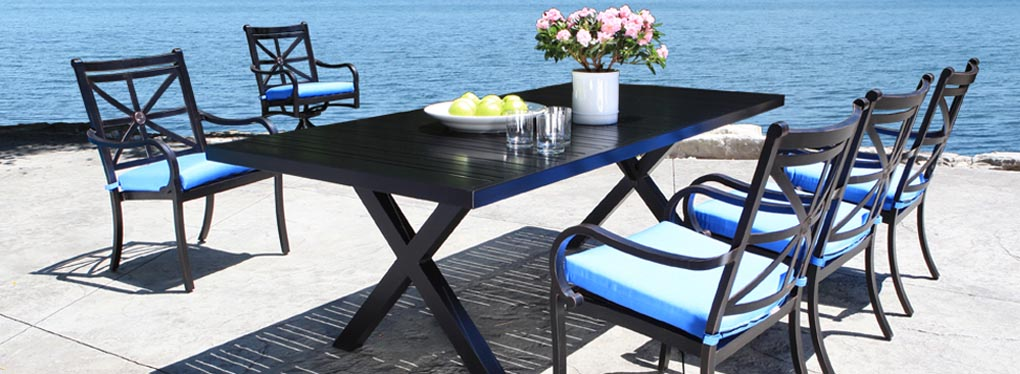 Aluminum Patio Furniture - Rosedale