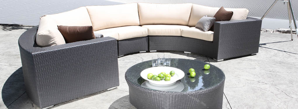 Outdoor Wicker Sectionals - Chorus