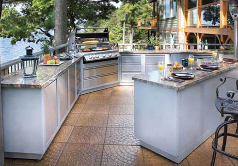 oasis modular components outdoor kitchens at sun country