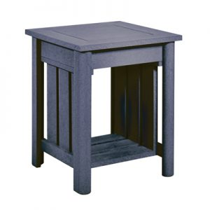 Recycled Plastic End Table