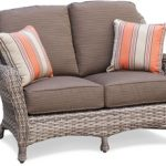 Captiva Wicker Loveseat