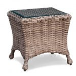 Captiva Wicker End Table