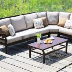 Madison Aluminum Sectional