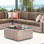 Biscayne Wicker Sectional