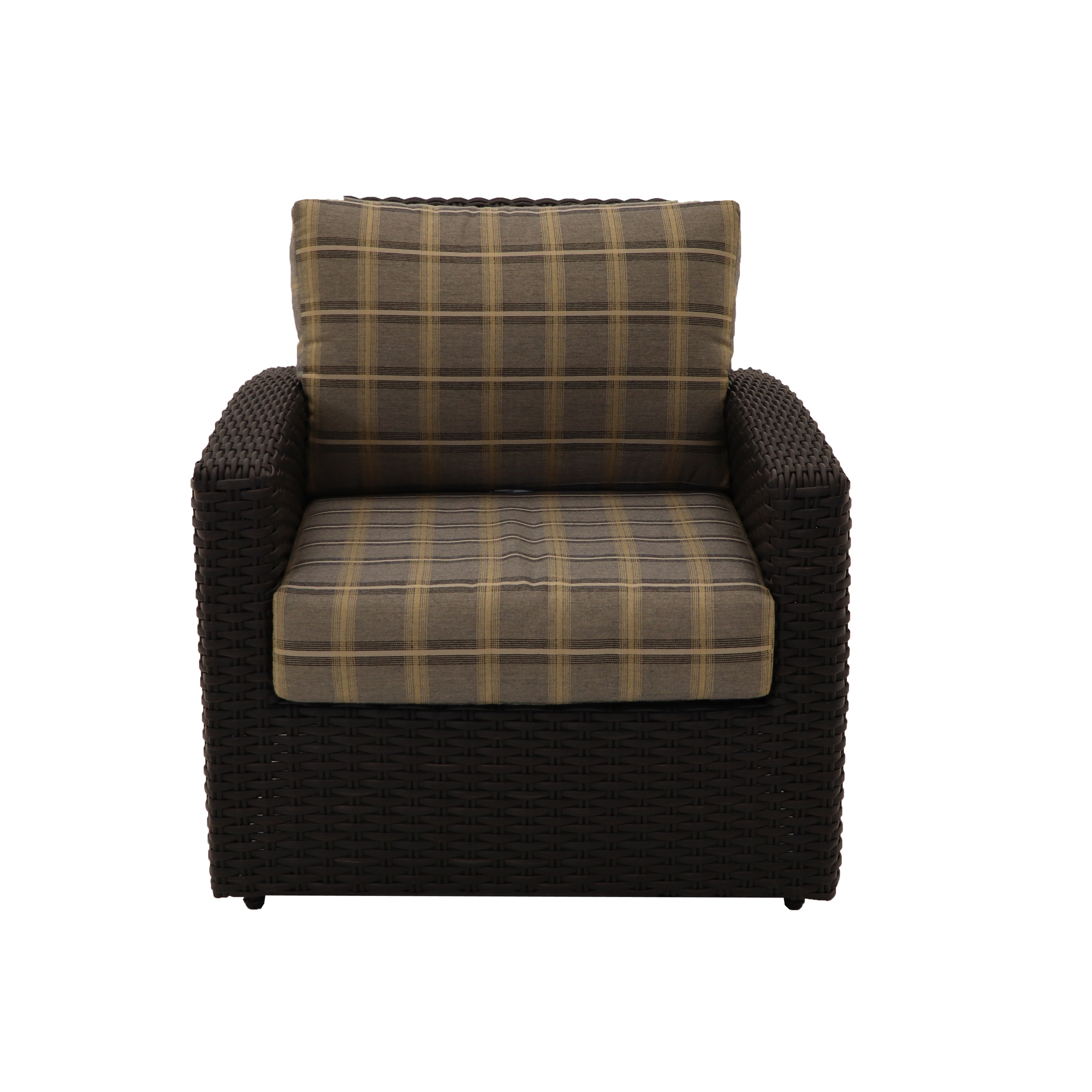 Biscayne Wicker Club Chair Patio Furniture At Sun Country