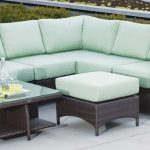 Palm Harbor Wicker Sectional