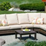 Whidbey Island Wicker Sectional