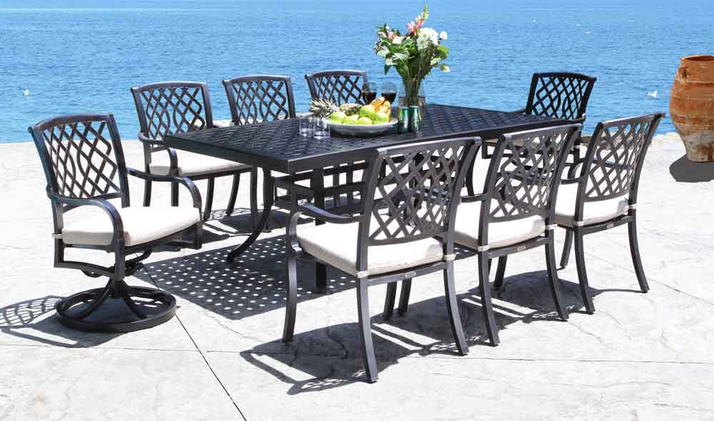 Gorgeous Cast Aluminum Patio Furniture