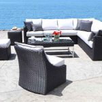 York Wicker Sectional
