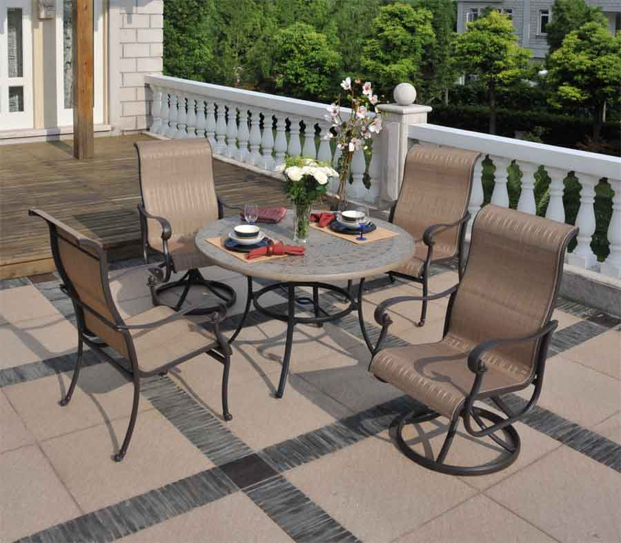 Valbonne Sling Dining Archives Patio Furniture & Outdoor Furniture by S
