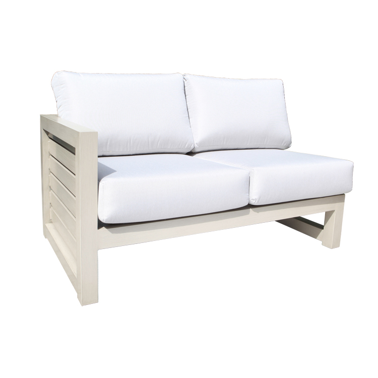Lakeview Aluminum Left Module Patio, Lakeview Furniture Collection