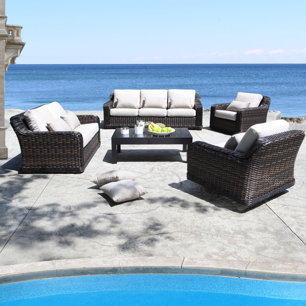 Outdoor Wicker Seafair Patio