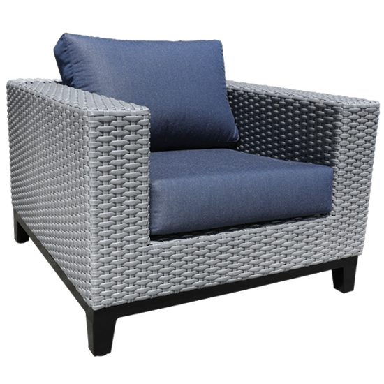 Tribeca Wicker Club Chair Patio Furniture At Sun Country